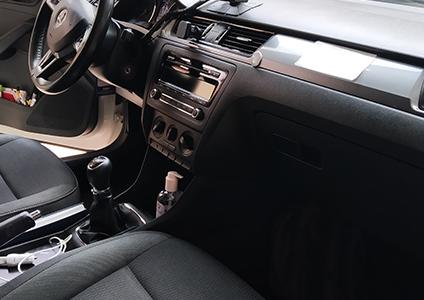 taxi alhama de murcia imagen de coche por dentro